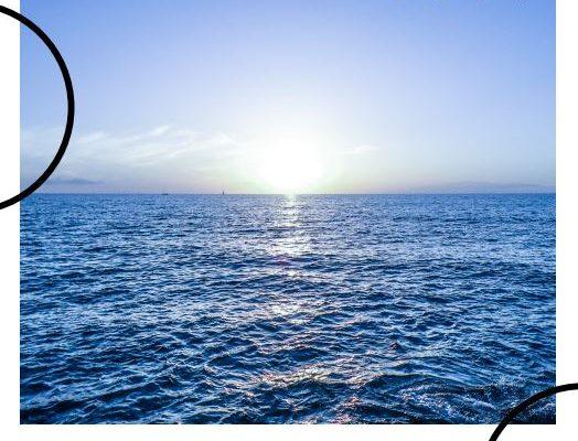 A view of an ocean.