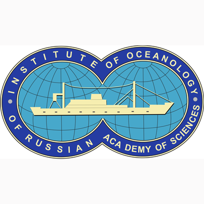 Institute of Oceanology of Russian Academy of Science logo.