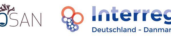 Logos of Fucosan, Interreg an European Union.